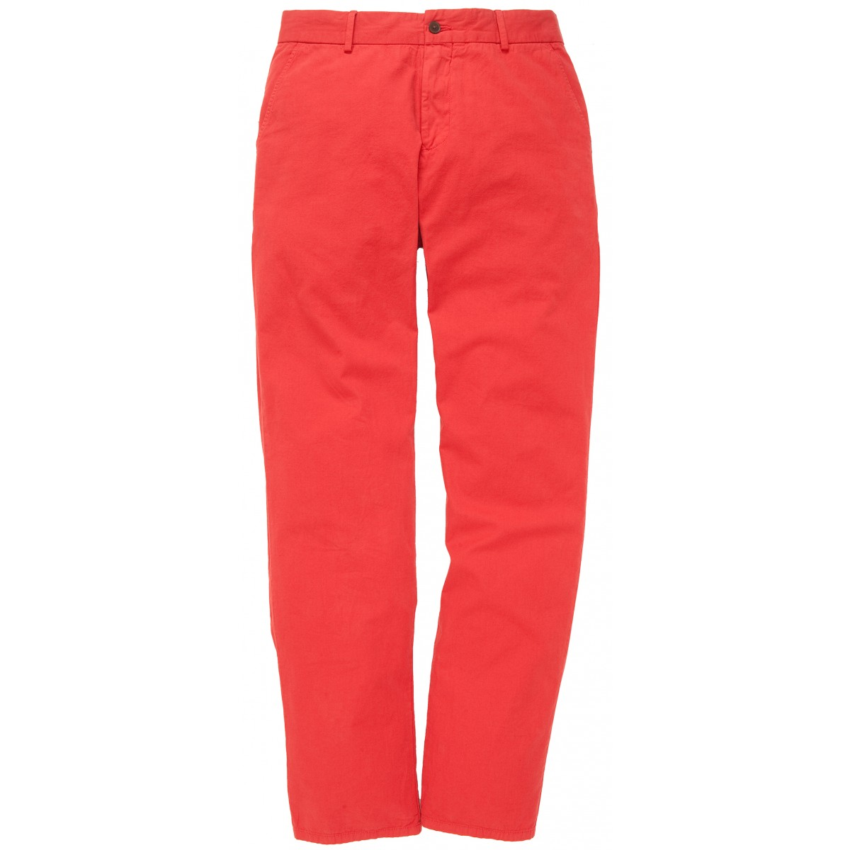 The Campus Pant - Rust Red